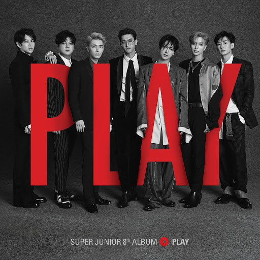Super Junior альбом PLAY - The 8th Album