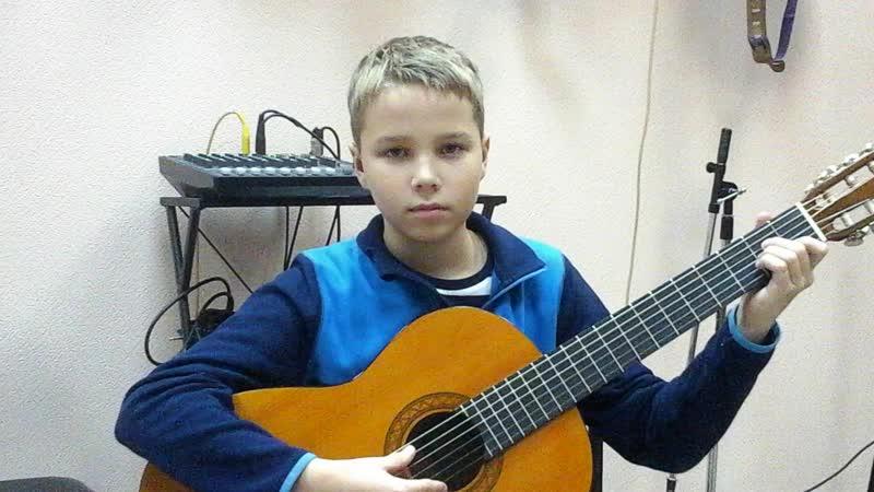 Слава Жоголев 11 лет, поздравление от имени Гитарной школы Акорд vk.com/akkord_syk город Сыктывкар