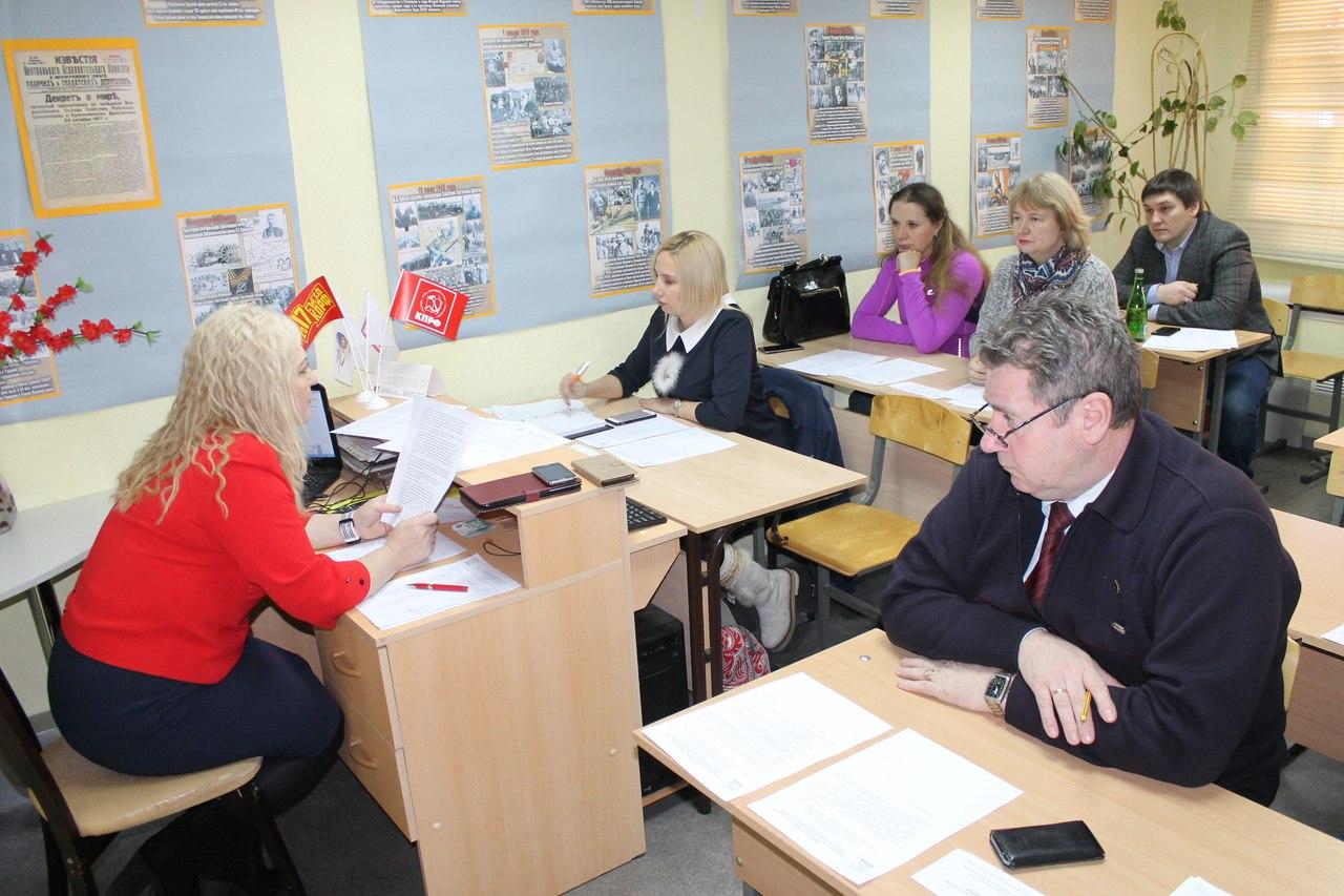 Коммунисты Ямала утвердили план предвыборной кампании по выборам Президента РФ