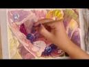 Как нарисовать розовую гортензию акварелью