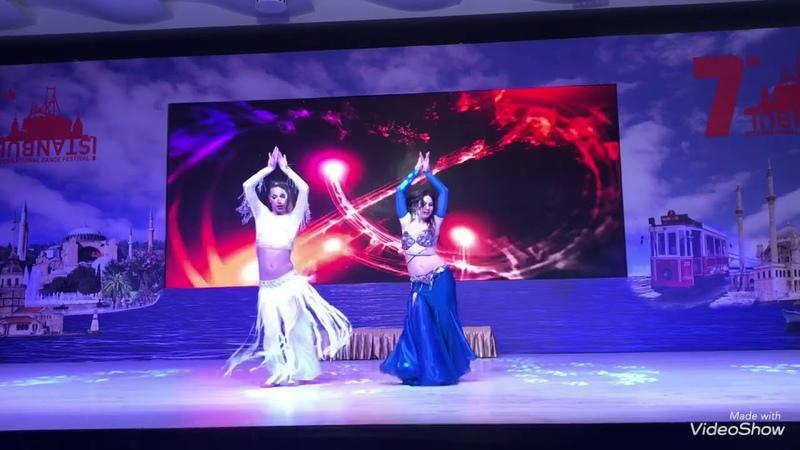 Dünya Şampiyonu Kaan Albayrak ve Asistanı Anna Kojokar Bellydance Show(İst Dans Fest)