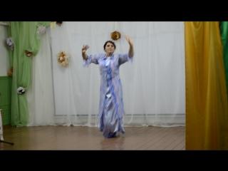 Удинский СДК. Узбекский танец.