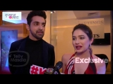 Shikha Singh, Leena Jumani And Arjit Taneja EXCITED For Kumkum Bhagya 1000 Episode Celebration Party.mp4