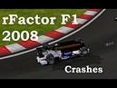 RFactor F1 2008 Crashes 2