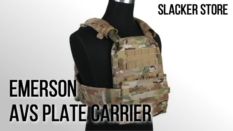 [EMERSON] AVS PLATE CARRIER REVIEW / ЭМЕРСОН AVS ПЛИТНИК