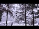 Зимой в Троице-Стефано-Ульяновском монастыре