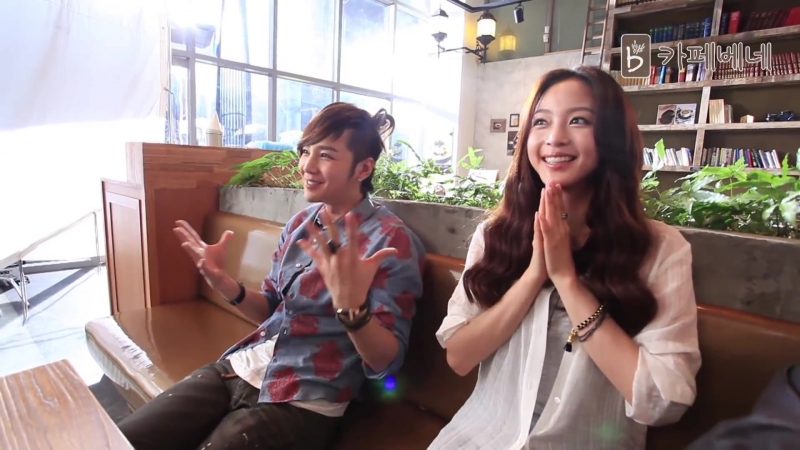 Jang Keun Suk Han Ye Sul ☕ Cafe Bene New Model, 2012