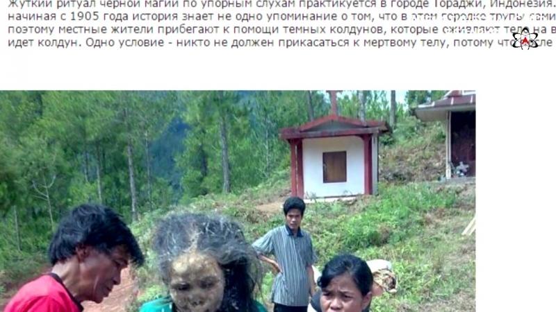 Культ мощей. Часть 8. Живые трупы Мадагаскара и Индонезии.