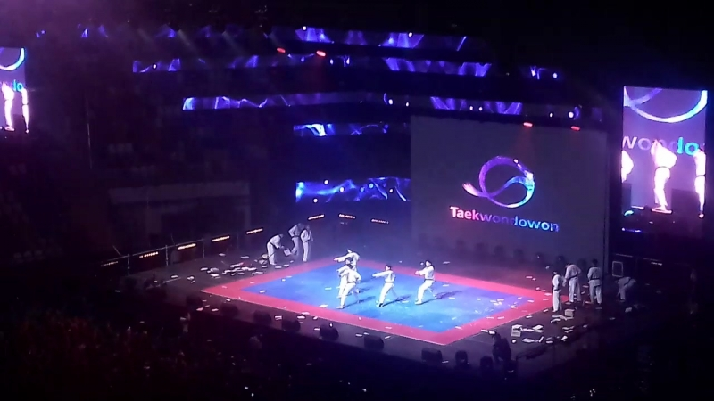 Taekwondowon 2pt FEEL KOREA 2018 in Moscow