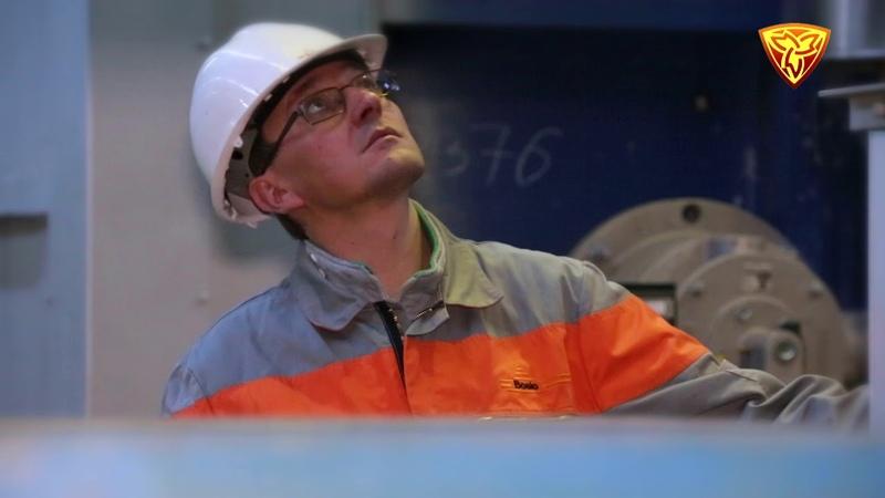 Участок печей термического отжига_АО Златоустовский электрометаллургический завод