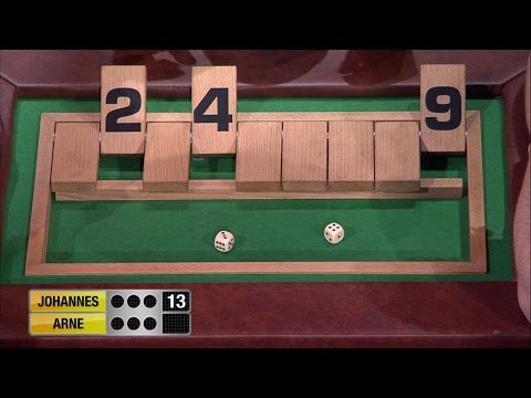 Spiel 4 - Shut the Box - Schlag den Star