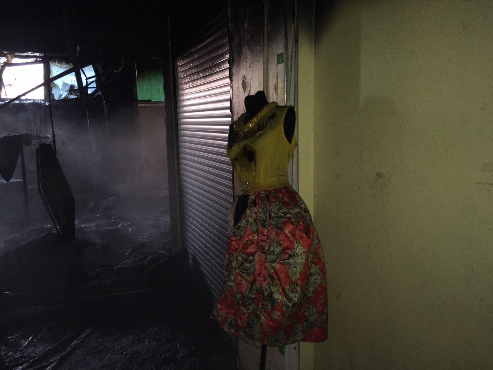Пожар в ТЦ Радуга