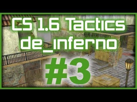 CS 1.6 Tactics 3 WeMade FOX de_inferno A-plant grenade rush (T Side)