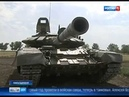 Tank troops training on Kadamovsky proving ground Southern Military district