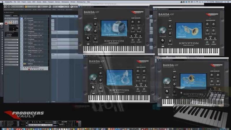 Como Hacer una pista Banda Sinaloense con computadora loops y Samples el Plugin Banda Elements VST