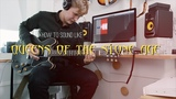 How to sound like Queens of the Stone Age (Josh Homme) on guitar - Little Sister, Song for the Dead