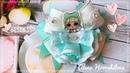 Бантики ЛОЛ с пышными юбками МК Канзаши Алена Хорошилова tutorial ribbon bow laço de fitas