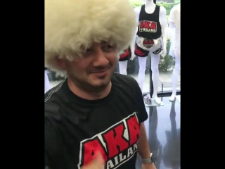 Михаил Галустян в AKA Thailand. Привет Хабибу