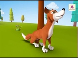 The Fox and the Crow A 3D English Story for Children Periwinkle Story 9