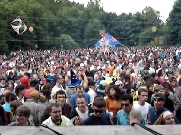 Goa Gil in Moscow 2005 Psy Trance Open air
