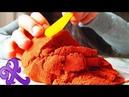 Что делать с кинетическим песком или игры для детей и взрослых с Хадижей