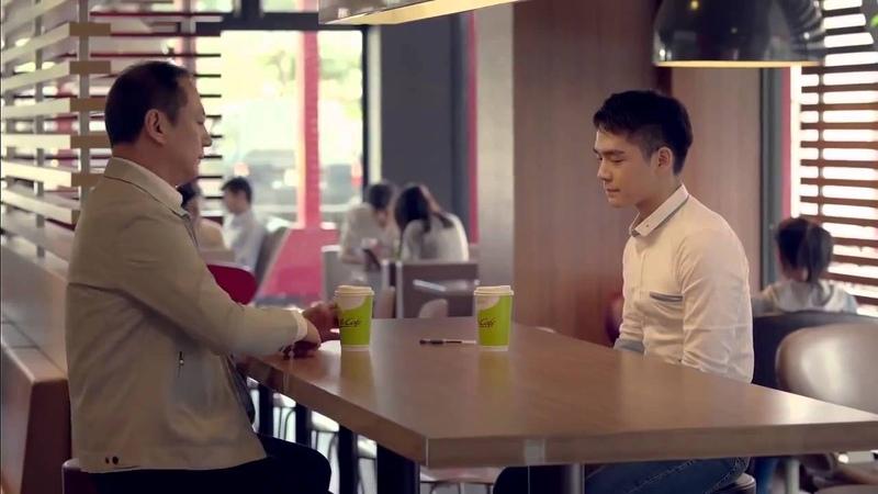 Папа я гей Реклама McDonald's папа мне нравятся парни