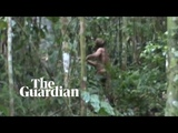 'Man of the hole' fresh footage released of last survivor of Brazilian Amazon tribe