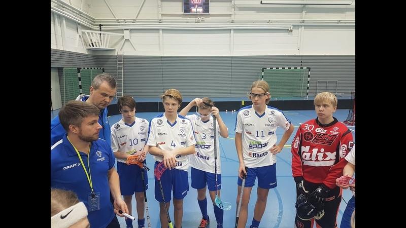 U16-pojat: Valmentajahaastattelussa päävalmentaja Jussi Huovinen