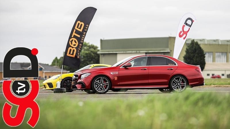 E63s AMG vs Supercars BOTB Drag Race