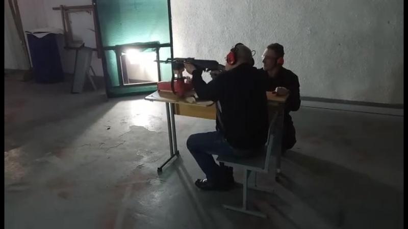 стрельба из калаша