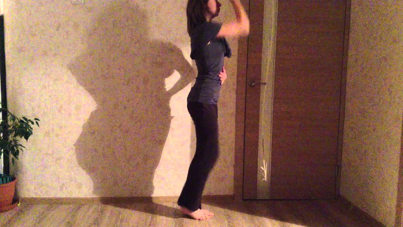 Испровизация Свободный танец Александры Хробостовой