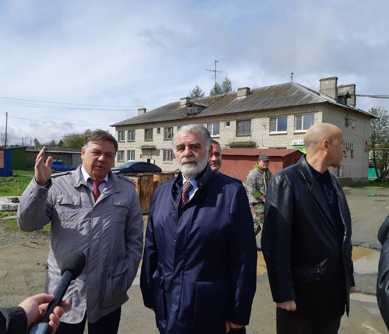 Рабочий визит депутата Зелимхана Муцоева