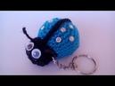 Coccinella Portachiavi Amigurumi Tutorial -Ladybug Crochet -Mariquita Croche