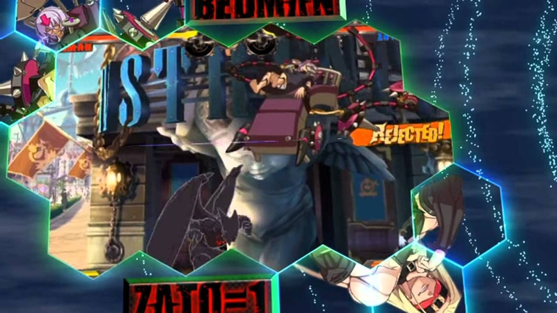 Guilty Gear Xrd Offset clash movie Raging Waves 60 fps
