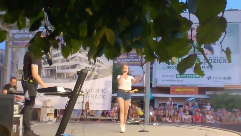 Kristína - Tancuješ mi v srdci (časť 2), 18.08.2017, Michalovce