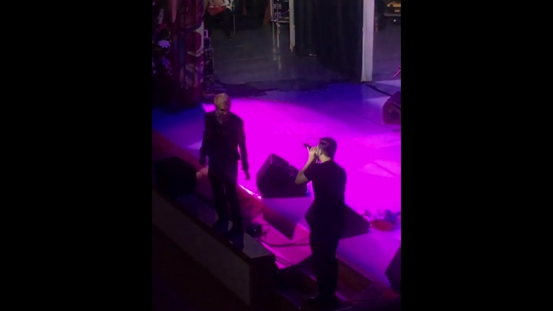 Cantare (excerpt) - Florent Mothe and Mikelangelo Loconte Moscow (In Time 11.03.2018)