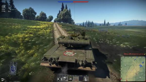 War Thunder Т 80Б Как ужиться с вертолётами
