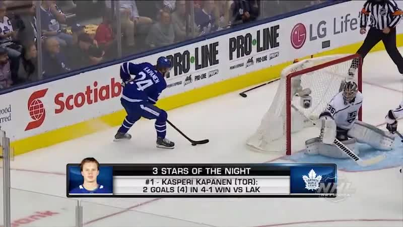 Three Stars of the Night Oct 16, 2018