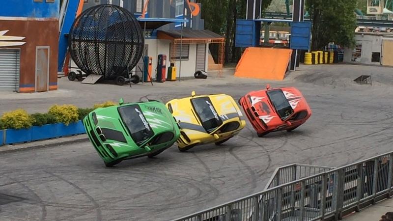 Grosso Guaio a Stunt City (ex Scuola di Polizia ) a Mirabilandia - Novità Hot Wheels