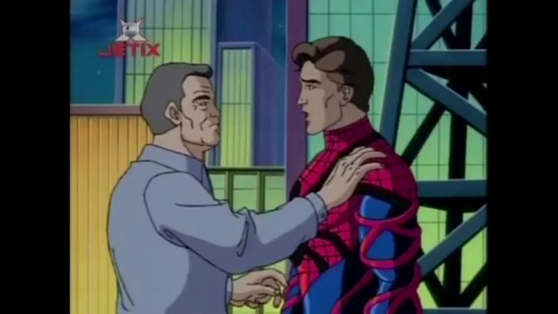 Человек-паук Симбиот и дядя Бен