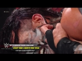 Randy Orton ruthlessly twists Jeff Hardy's earlobe with a screwdriver WWE Hell in a Cell 2018