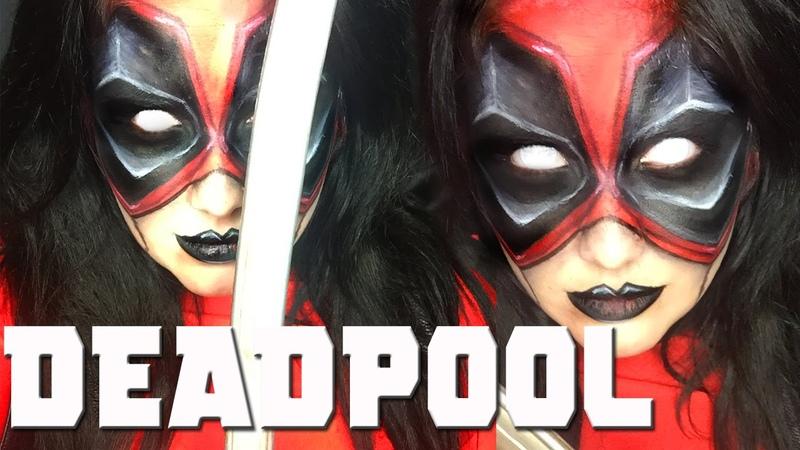 DEADPOOL Inspired Makeup Tutorial!
