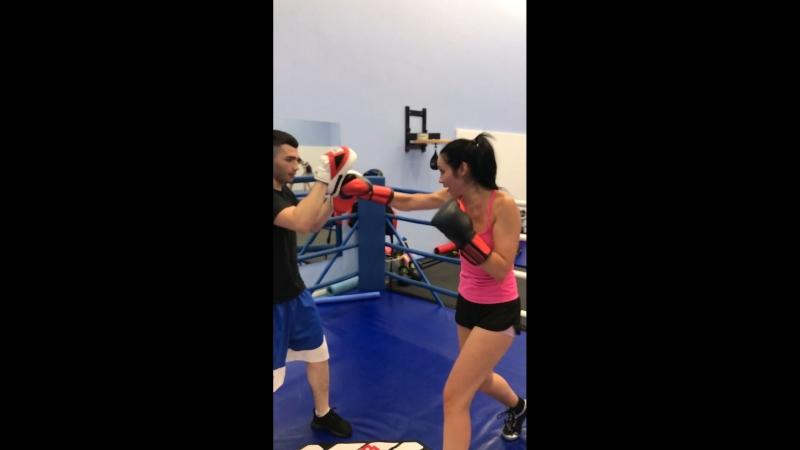 Персональная тренировка по боксу с Масимовым Урфаном