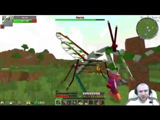 ч.18 Адская планета с порталом в другой мир - Minecraft Страшные приключения