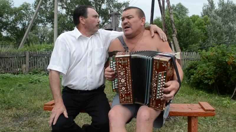 Гармонист Владимир Колядин и Степан Колядин.
