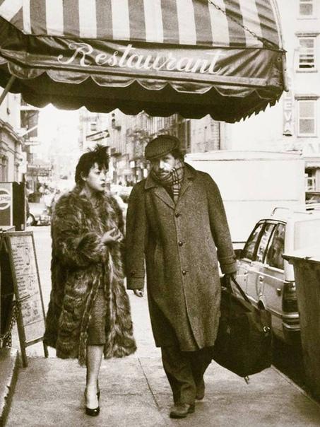 Белла Ахмадулина и Василий Аксёнов в Париже