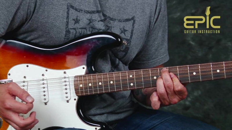 Learn Stevie Ray Vaughan Riviera Paradise intro guitar lesson licks chords jazzy blues