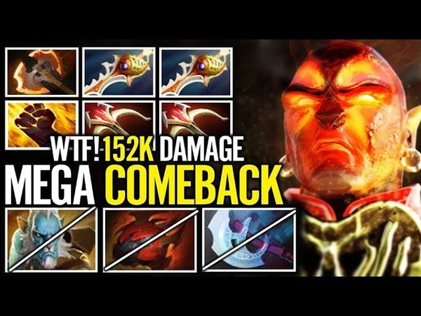 MegaCreeps Comeback with Doubled Divine - MagE Ember Spirit Dota 2 Gameplay