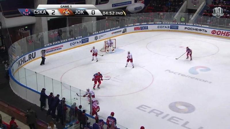 ЦСКА-Йокерит. плей офф. 16.03.2018