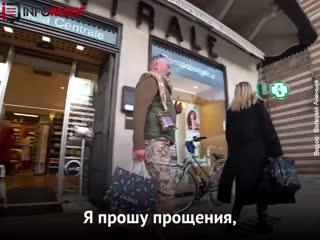 Российский журналист против украинского солдата